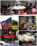 Wave Your Flags This Fourth of July at Your Vintage Freedom Party