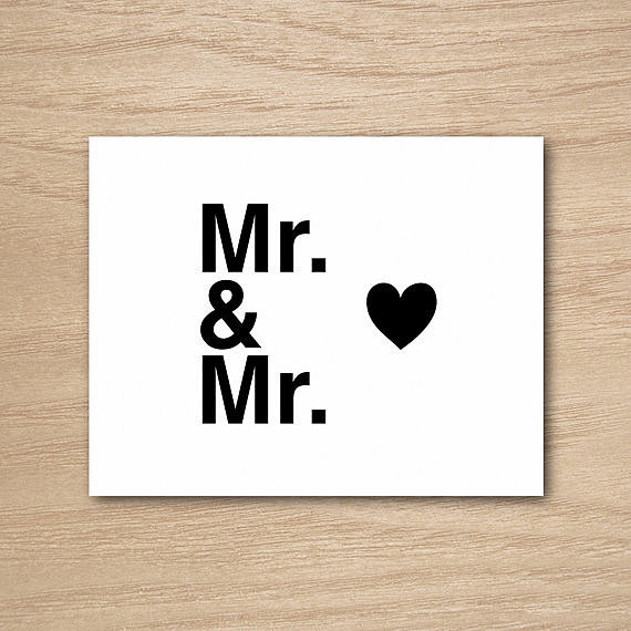 Mr. and Mr. ($5)