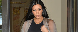 Kim Kardashian Wore a Totally Sheer Dress — and Forgot a Bra