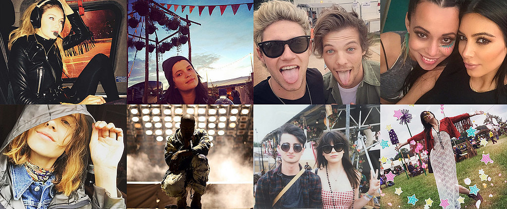 The Incredible Celebrity Snaps From Glastonbury You Need to See