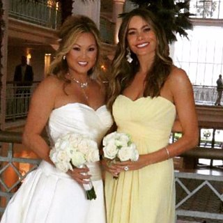 Sofia Vergara Is a Bridesmaid