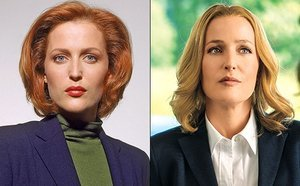 FROM EW: Why Gillian Anderson Is Wearing a Wig in the X-Files Revival