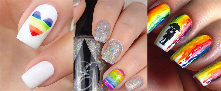 Rainbow Manicures to Get You Out of Your Fall Funk