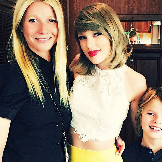 Taylor Swift With Gwyneth Paltrow and Moses | Picture