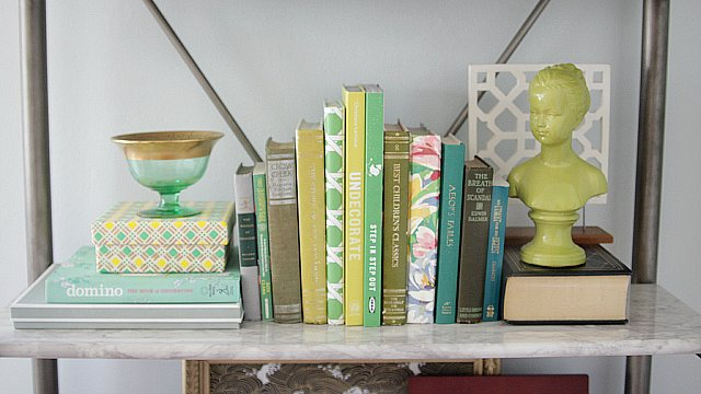Tips For Styling a Pinterest-Perfect Bookshelf
