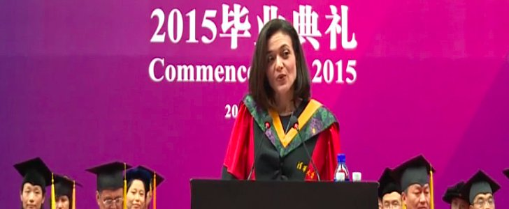 Sheryl Sandberg's Commencement Speech Is Meant For Anyone Who Wants to Be a Leader