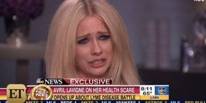 Avril Lavigne Breaks Down During Interview About Lyme Disease