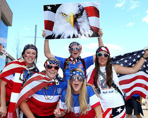 These Diehard Women's World Cup Fans Put Your Team Spirit to Shame