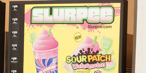 Prepare Your Tongues: 7-Eleven Is Selling A Sour Patch Watermelon Slurpee Starting July 1