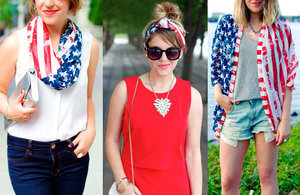 Ways to Wear Red, White & Blue on the 4th of July