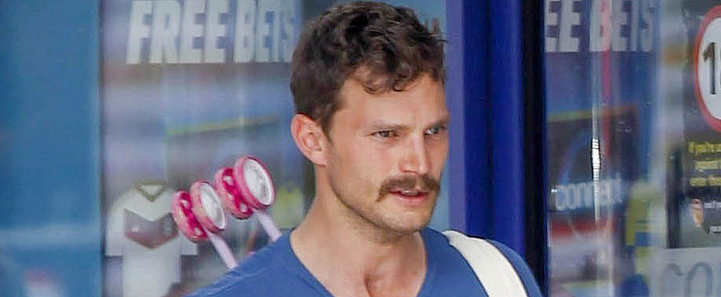 Jamie Dornan With a Mustache Might Be the Sexiest Jamie Dornan