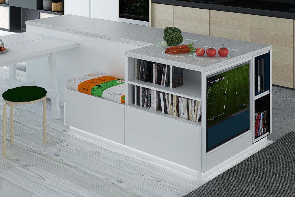 Digital kitchen worktops in 10 years ikea thinks all for Concept ikea