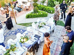 Exclusive: Fashion Designer Rachel Pally's Stunning Summer Soirée