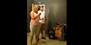 Hidden Camera Catches Dad's Priceless Reaction When He Finds Out He'll Be A Grandpa