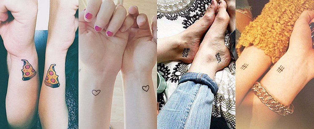POPSUGAR Shout Out: 55 BFF Tattoos That Are Beyond Perfection
