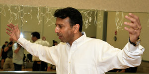 Bobby Jindal Gives Up Last Stand Against Gay Marriage Licenses In Louisiana