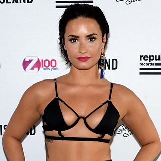 Demi Lovato Tiny Bikini Top