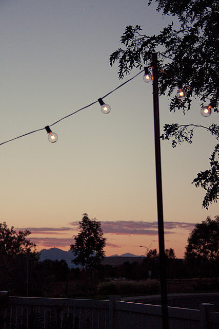 Hanging Outdoor String Lights Target : This project was so rewarding. This Hack For Hanging Outdoor String Lights Will Make Your ...