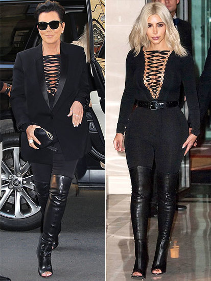 Kopycat Kris! The Many Fashion Faceoffs of Kris Jenner
