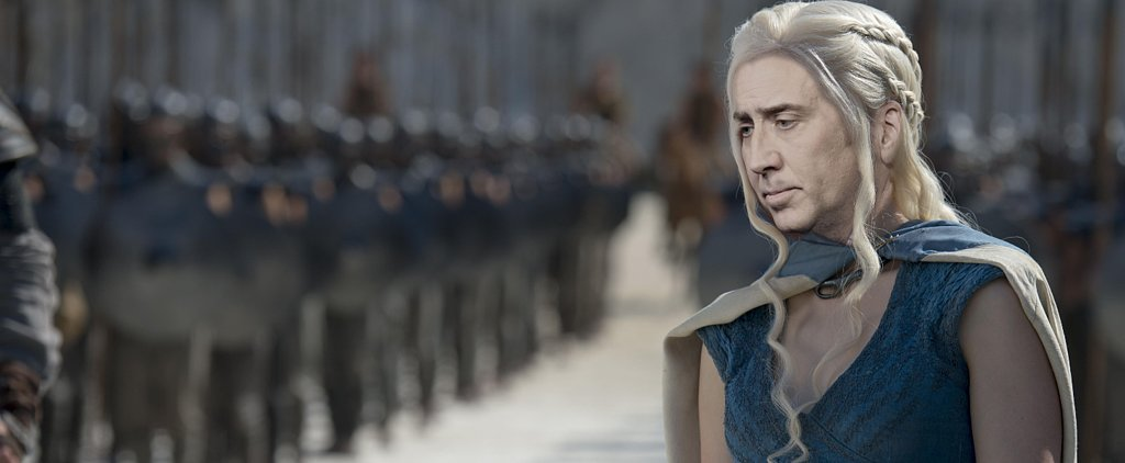 Nicolas Cage as Game of Thrones Characters Is What Dreams Are Made Of