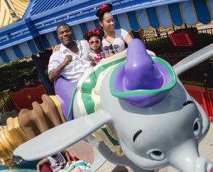 Tracy Morgan Celebrates Daughter Maven's Second Birthday With Trip to Disney World -- Photo