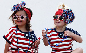 6 Times BFFs Everleigh And Ava Were More Ready For Fourth Of July Weekend Than You