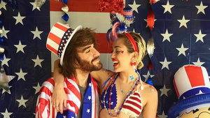 Miley Cyrus Doubles Down on Patriotic Gear for the Fourth of July -- See the Pics!