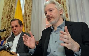 France Rejects Julian Assange's Asylum Plea