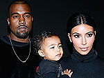 Kim Kardashian and North West Have a Wardrobe Battle - See the Result!