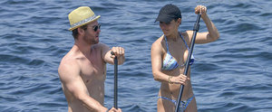 Chris Hemsworth and Elsa Pataky Turn Up the Heat with a Sexy Paddle Boarding Date