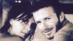 David Beckham Celebrates Wedding Anniversary to Victoria Beckham With Throwback Pic