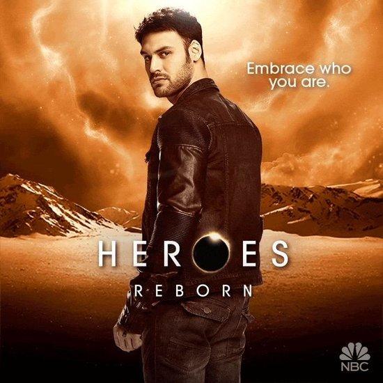Heroes Reborn Posters
