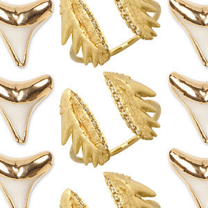 Shark-Tooth Jewelry For Fashion Girls