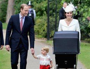 Royals Christen Charlotte