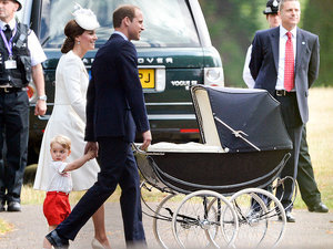 A 50-Year-Old Stroller and 4-Year-Old Cake: Princess Kate and Prince William Look to History for Princess Charlotte's Christenin