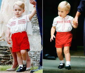 Prince George Looks Like Prince William's Double in Cute Christening Outfit: See The Amazing Flashback Photo