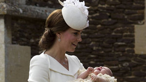 Princess Charlotte Christened In Same Church Princess Diana Was Baptized In -- See the Pics!