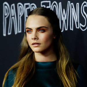 Cara Delevingne Makeup and Hair at Paper Towns Premiere