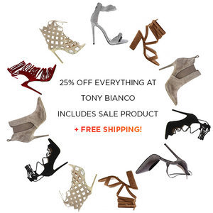 Shop our Exclusive Discount Offers on all Tony Bianco!