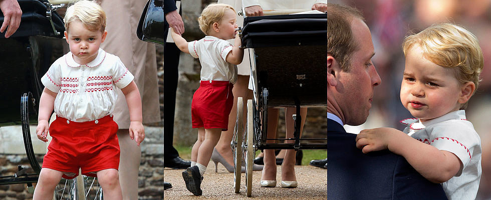 23 Times Prince George Was Just Perfect at His Sister's Christening