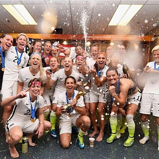 2015 Women's World Cup Team USA Instagram