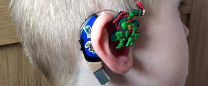 You Have to See What This Mom Did to Her Son's Hearing Aid