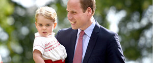 The Real Reason Prince George Stole the Show at Charlotte's Christening