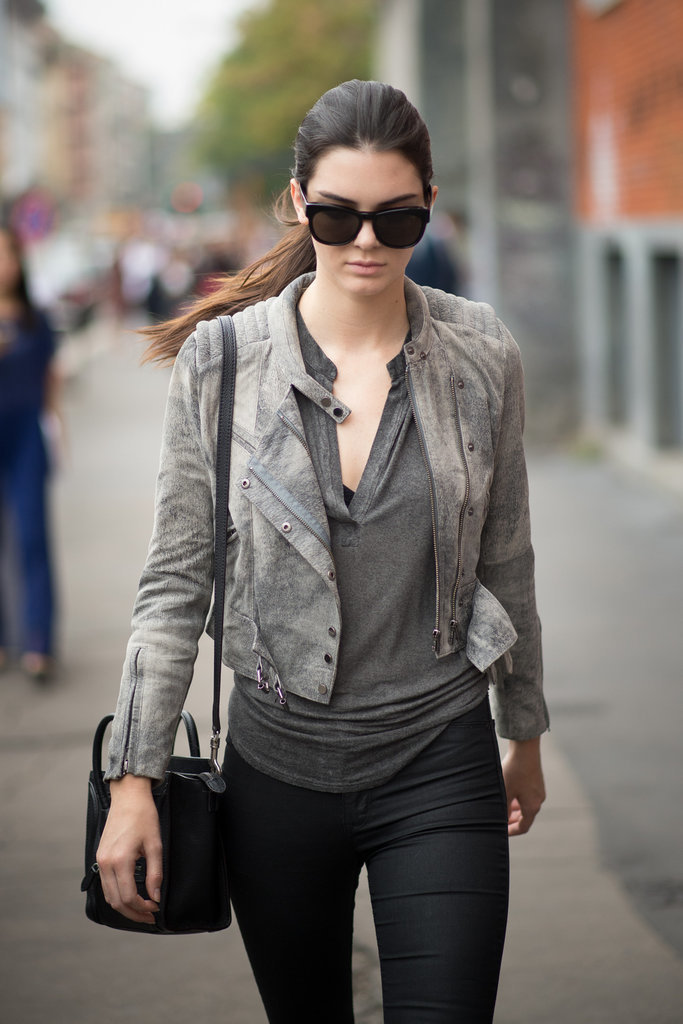 Kendall Jenner Street Style Popsugar Fashion