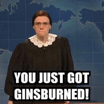 When She Made Ruth Bader Ginsburg Hilarious