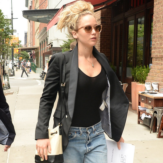 Jennifer Lawrence Steps Out Solo After Spending the Weekend With Chris Martin