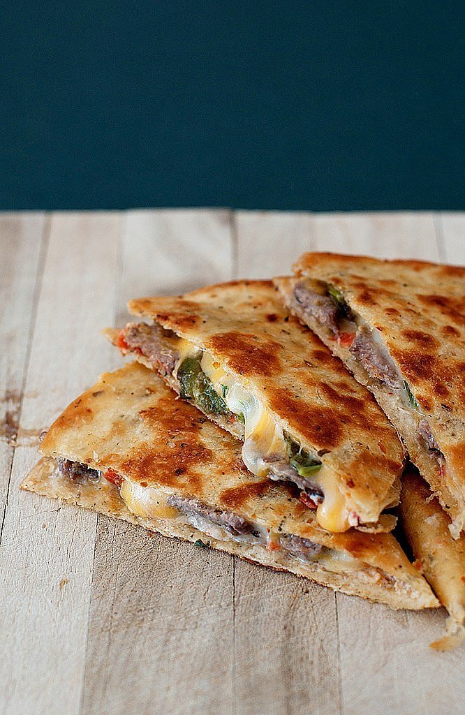 Jalapeño Popper Steak Quesadilla | Short on Time? Turn to 1 of These ...