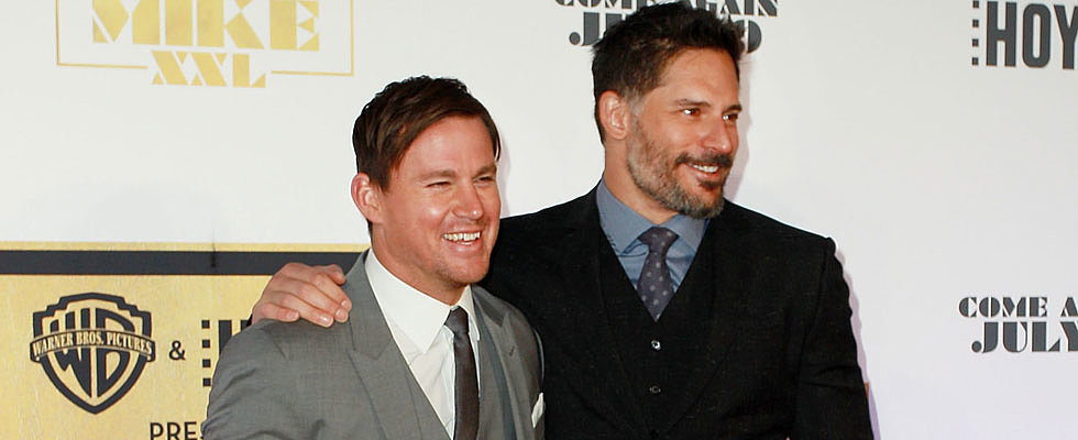 Channing Tatum and Joe Manganiello Got Sydney's Pulse Racing Last Night