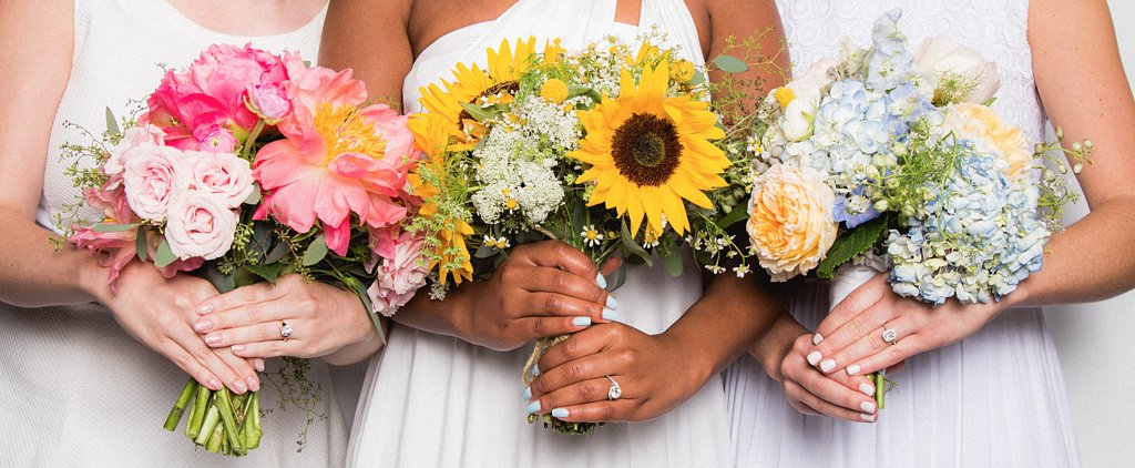 10 Stunning Bridal Nail Colors and Whimsical Bouquet Ideas