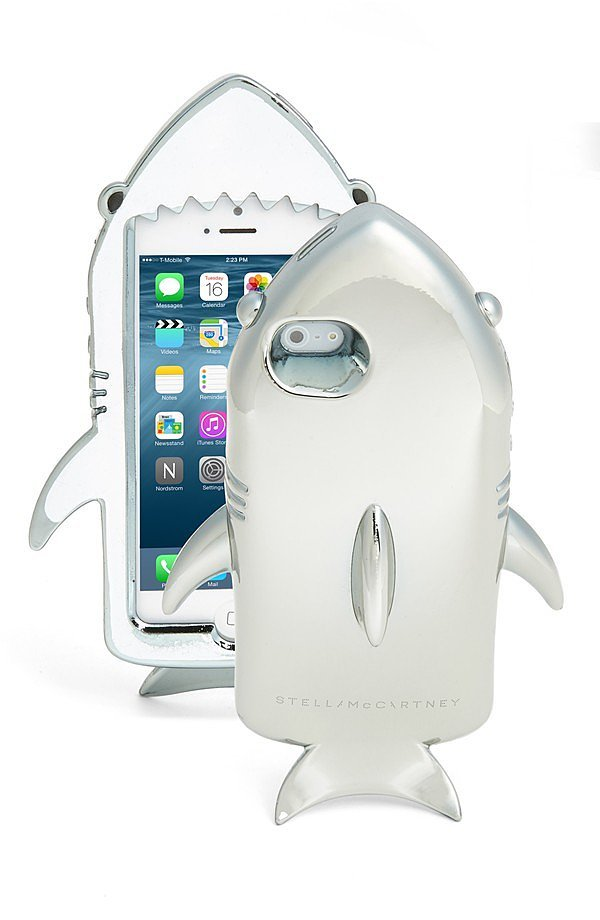 Stella McCartney Metallic Shark iPhone 6 Case ($140)